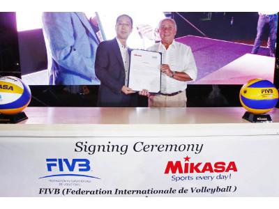 FIVB та MIKASA разом в наступному олімпійському циклі
